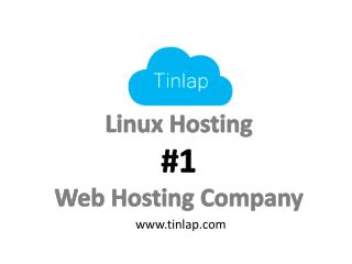 Buy now insanely cheap web hosting with Tinlap!