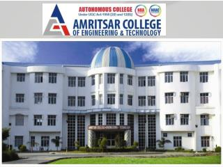 ACET - Best Engineering College in Punjab