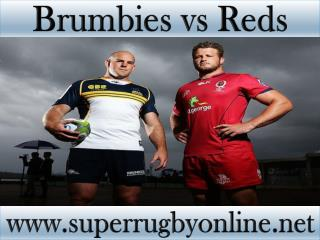 how to watch Brumbies vs Reds online