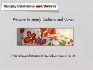 Simply Cushions and Covers