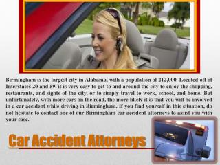 Car Accident Lawyers In Birmingham