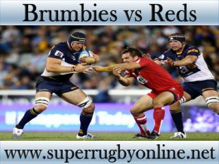 see Brumbies vs Reds online