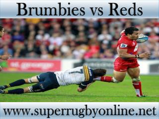 watch Brumbies vs Reds Super rugby live stream