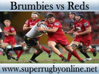 watch Brumbies vs Reds live telecast