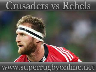 watch Crusaders vs Rebels live match