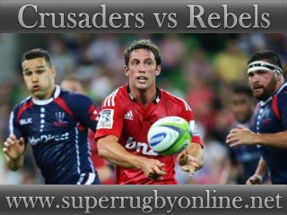 live Crusaders vs Rebels