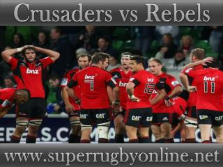 watch Crusaders vs Rebels live coverage