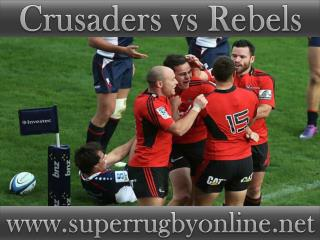 2015 1st match Crusaders vs Rebels live