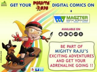 Grab Mighty Raju Comics at Green Gold Store