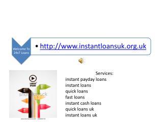 Instant Loans | http://www.instantloansuk.org.uk | Instant C