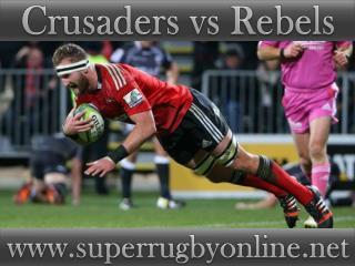 Crusaders vs Rebels live on webstreaming