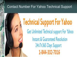 Contact for 1-844-332-7016 Yahoo Speed problem