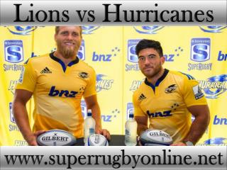 watch Lions vs Hurricanes live match