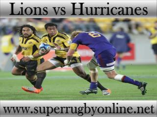 how to watch Lions vs Hurricanes online