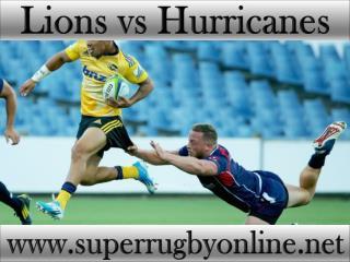 watch Lions vs Hurricanes online stream