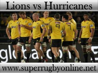 see Lions vs Hurricanes online