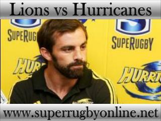 live Lions vs Hurricanes stream online