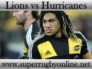 watch Lions vs Hurricanes stream live online