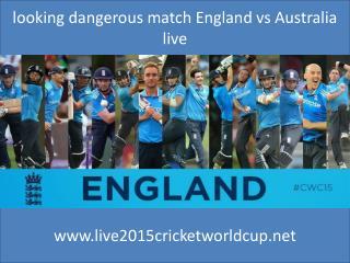 watch England vs Australia live coverag