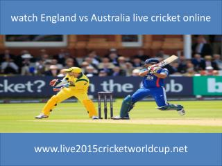 live England vs Australia stream cricket 14 feb