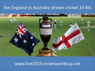 cricket England vs Australia live