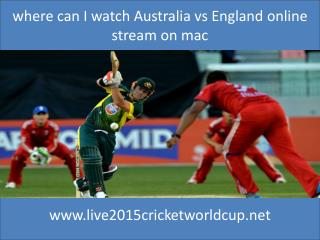 how can I watch easily Australia vs England cricket match 14