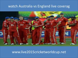 watch Australia vs England live cricket online