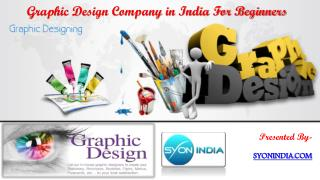 Graphic Design Company in India For Beginners