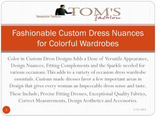 Toms Fashion-Leading custom tailor in Chicago