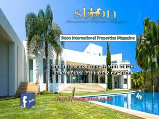 Find a Dreams Property with STTON International Properties M