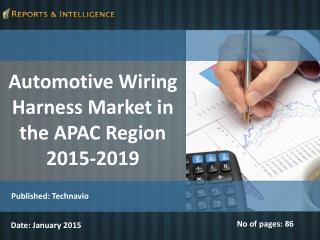 Automotive Wiring Harness Market in the APAC Region2015-2019