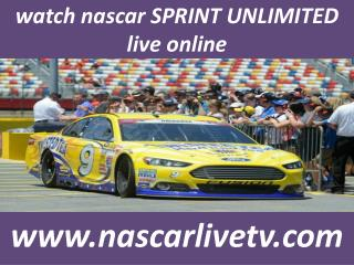 nascar 2015 Sprint Unlimited streaming audio live online