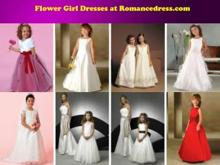 Flower Girl Dresses at Romancedress.com