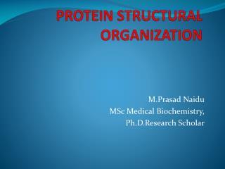 STRUCTURAL ORGANISATION