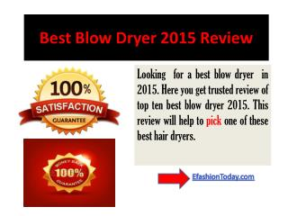 Top 10 Sell Hair Dryers Review