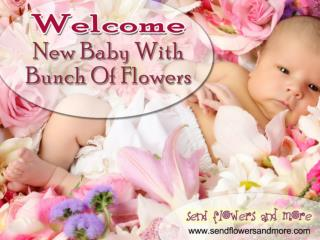Order Online Exotic New Baby Flowers