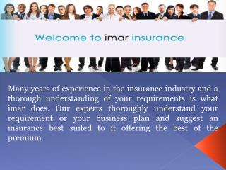 imar Offers Office Insurance in Melbourne