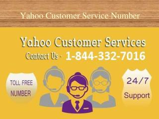 1-844-332-7016 USA Yahoo customer service for reliable servi