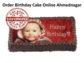 Order Birthday Cake Online Ahmednagar