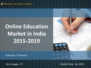 R&I: Online Education Market in India 2015-2019