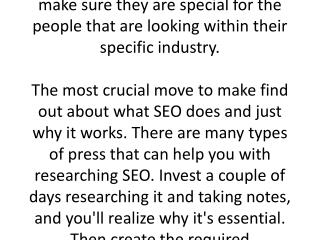 Getting Used-To Seo: Tips And Tricks