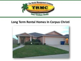 Long Term Rental Homes In Corpus Christi
