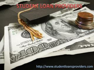 Student Loan Providers in USA