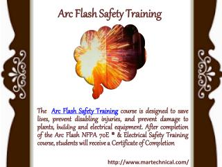Arc Flash Safety Training