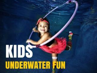 Kids' underwater fun
