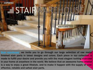 Wrought Iron Stair Balusters