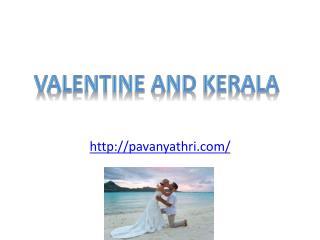 Valentine in Kerala Backwaters