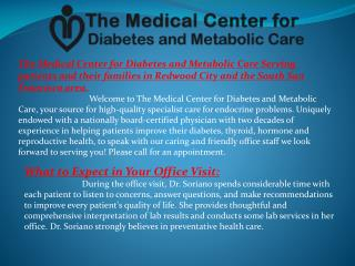 Diabetes consultant Redwood City CA, Endocrine consultant Re