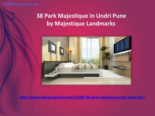 38 Park Majestique in Undri Pune