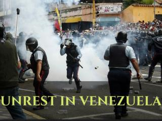 Unrest in Venezuela